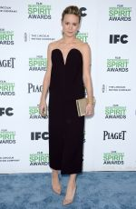 BRIE LARSON at 2014 Film Independent Spirit Awards in Santa Monica