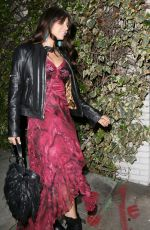 BRITTNY GASTINEAU Leaves the Chateau Marmont in Los Angeles