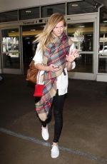 BROOKLYN DECKER at LAX Airport in Los Angeles