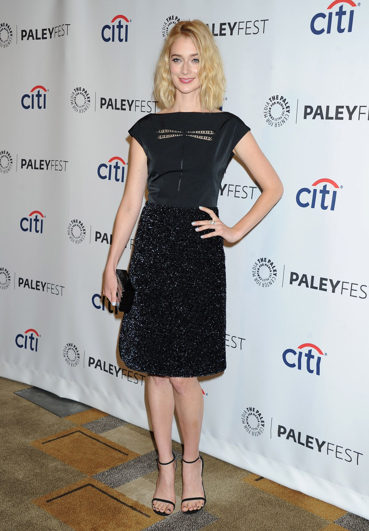 CAITLIN FITZGERALD at Masters of Sex Panel at 2014 Paleyfest