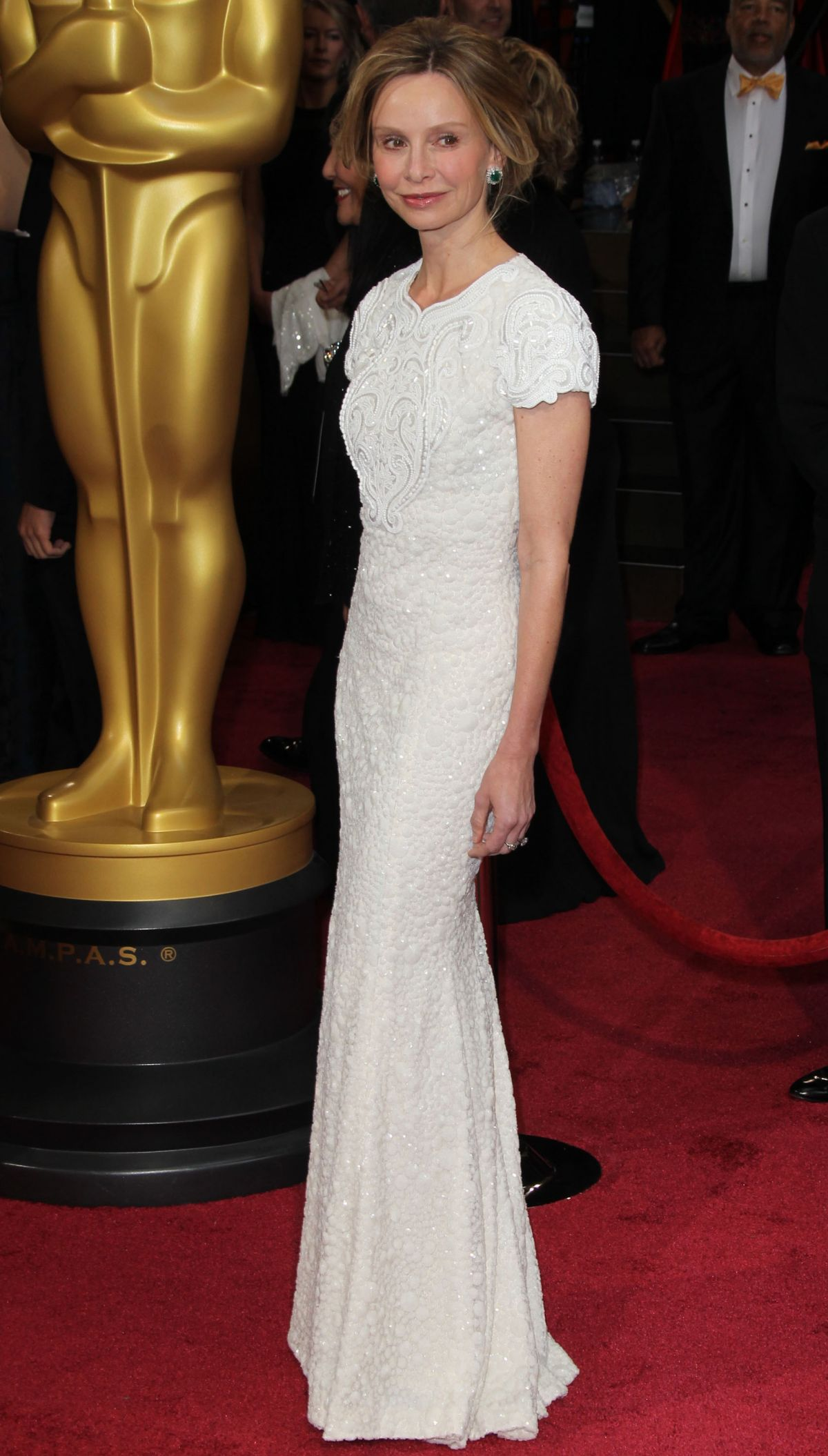CALISTA FLOCKHART at 86th Annual Academy Awards in Hollywood