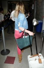 CAMERON DIAZ at LAX Airport in Los Angeles
