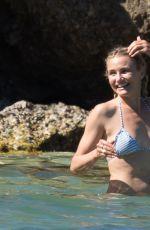 CAMERON DIAZ in Bikini in the Caribbean
