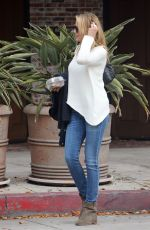 CAMERON DIAZ Out to Lunch at Grand Casino Cafe in Culver City