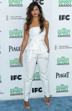 CAMILA ALVES at 2014 Film Independent Spirit Awards in Santa Monica