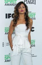 CAMILA ALVES at 2014 Film Independent Spirit Awards in Santa Monica