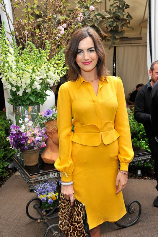 CAMILLA BELLE at Christian Louboutin Passage Handbag Collection Launch in Los Angeles