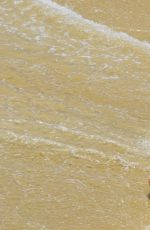 CANDICE SWANEPOEL in Bikini at a Photoshoot in Brazil