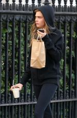 CARA DELEVINGNE Out and About in London 1303