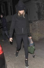 CARA DELEVINGNE Out and About in London