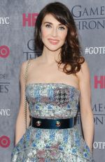 CARICE VAN HOUTEN at Game of Thrones Fourth Season Premiere in New York