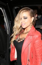 CARMEN ELECTRA Leaves Roxy Nightclub in Los Angeles