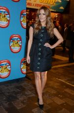 CAROLINE FLACK at I Can't Sing! The X Factor Musical Press Night in London