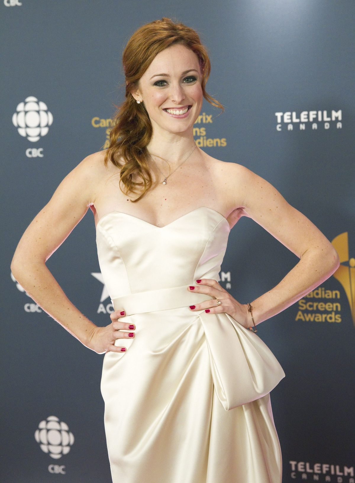 CARRIE-LYNN NEALES at 2014 Canadian Screen Awards in Toronto