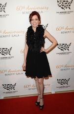 CARRIE PRESTON at Humane Society of the US 60th Anniversary Gala in Beverly Hills