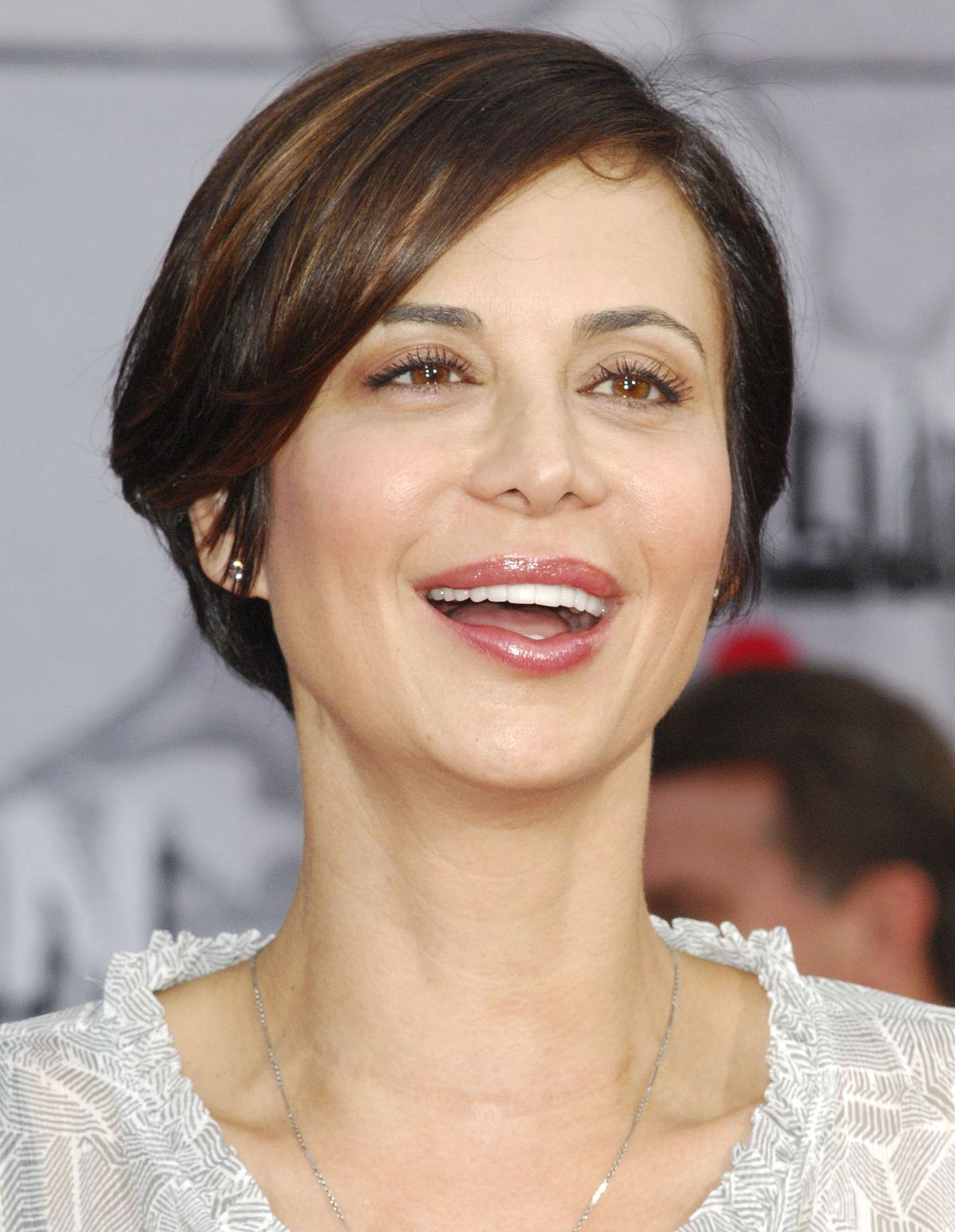 CATHERINE BELL at Muppets Most Wanted Premiere in Los