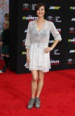CATHERINE BELL at Muppets Most Wanted Premiere in Los Angeles
