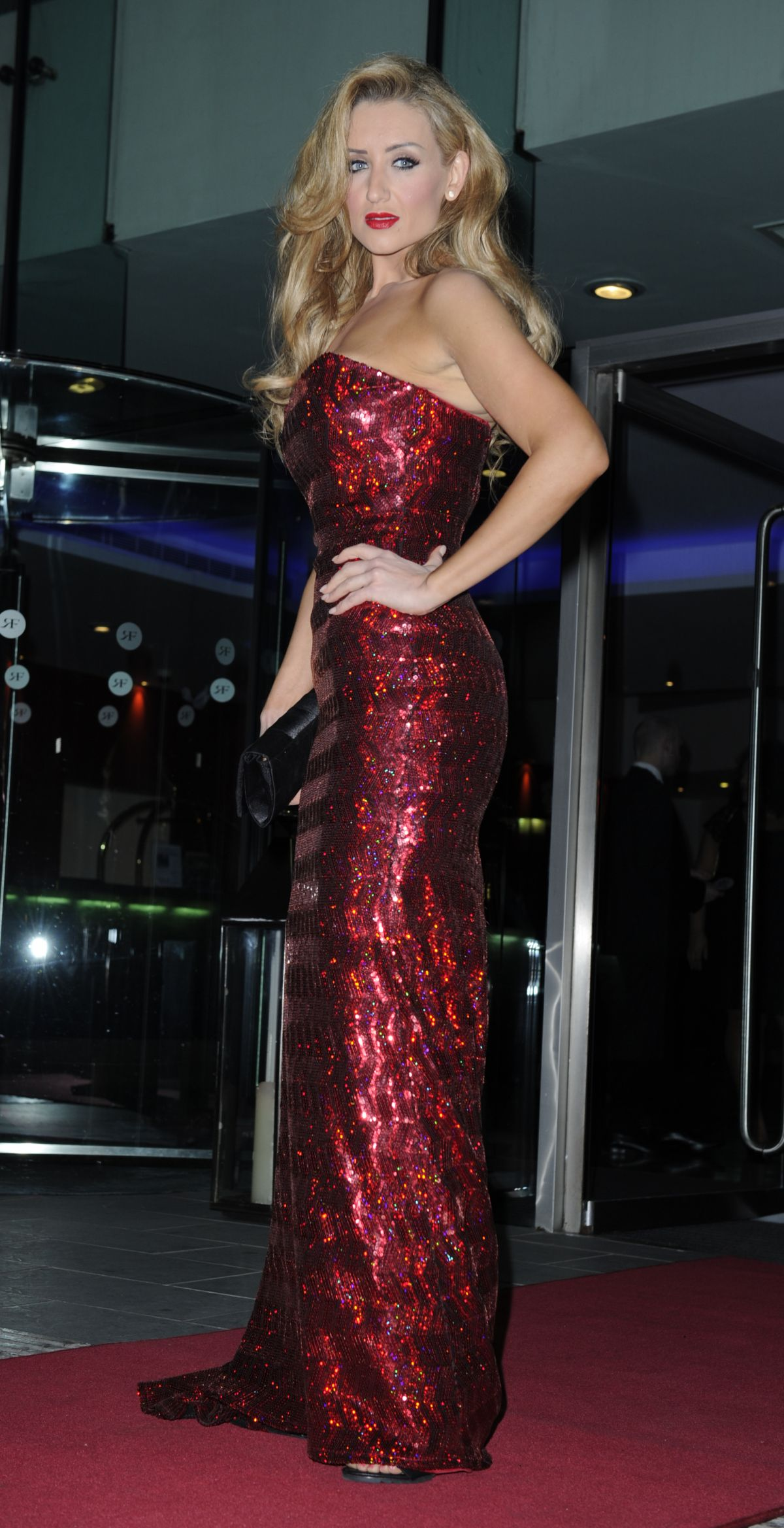 CATHERINE TYLDESLEY at The Mirror Ball at Lowry Hotel in Manchester