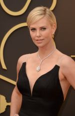 CHARLIZE THERON at 86th Annual Academy Awards in Hollywood