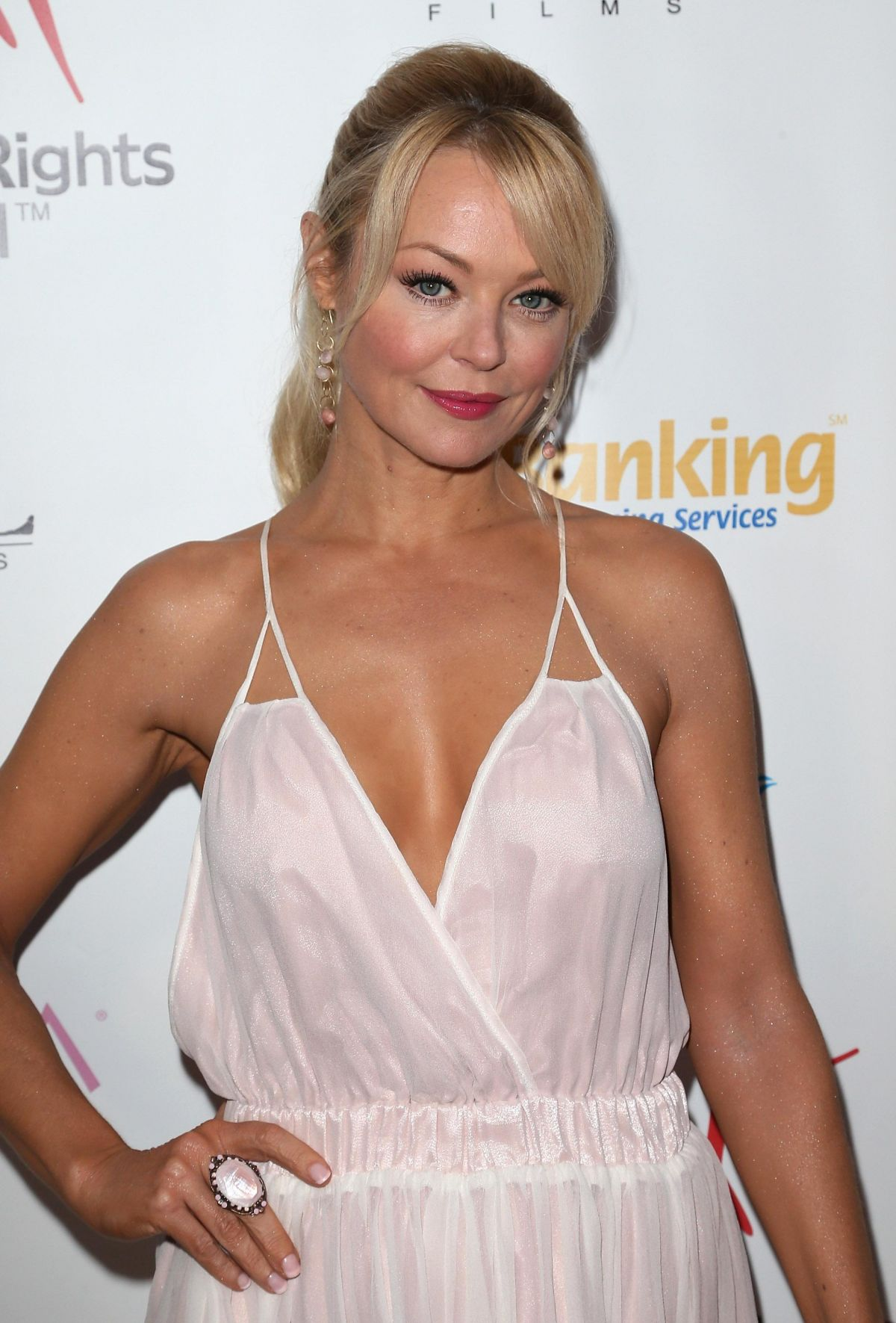 CHARLOTTE ROSS at Youth for Human Rights International Celebrity Benefit in Hollywood