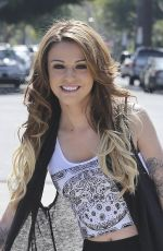 CHEL LLOYD Out and About in Hollywood