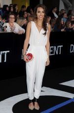 CHELSEA GILLIGAN at Divergent Premiere in Los Angeles