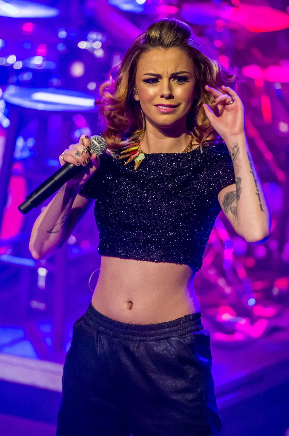 Cher Lloyd Performs At A Concert In Detroit Hawtcelebs