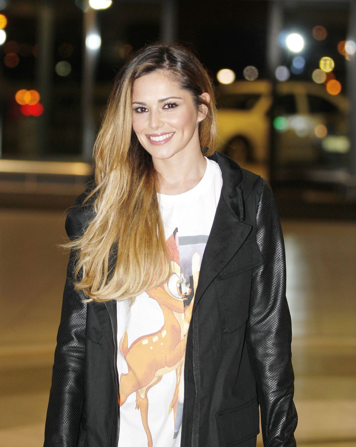 CHERYL COLE Out and About in Cae Town