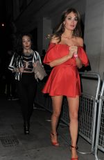 CHLOE SIMS at Nobu Restaurant in London