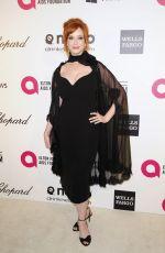 CHRISTINA HENDRICKS at Elton John Aids Foundation Oscar Party in Los Angeles