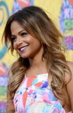 CHRISTINA MILIAN at 2014 Nickelodeon's Kids' Choice Awards in Los Angeles