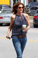 CINDY CRAWFORD Out and About in Malibu
