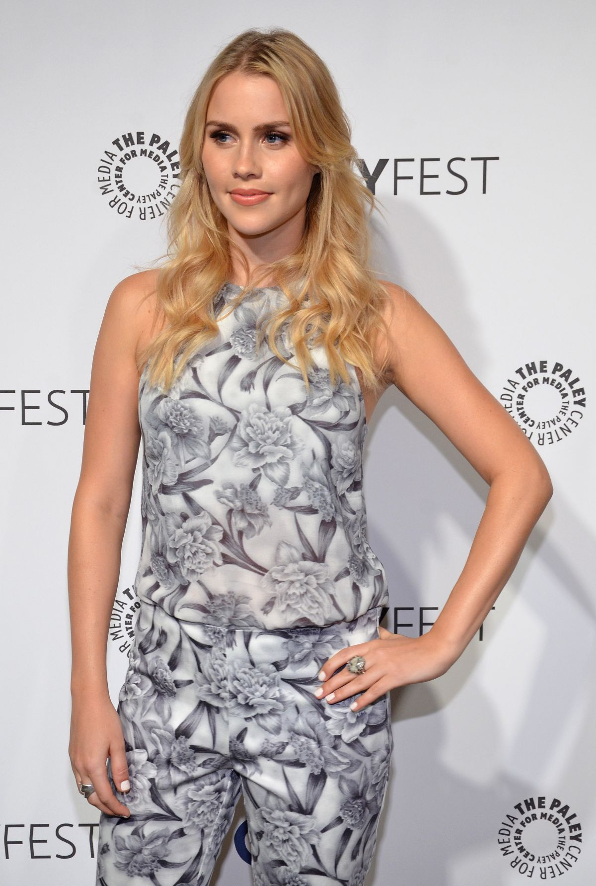 CLAIRE HOLT at Paleyfest an Evening with the Originals in Beverly Hills