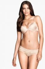 CLARA ALONSO - H&M Lingerie, March 2014