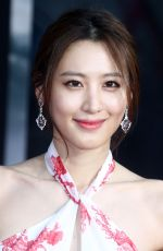 CLAUDIA KIM at Captain America: The Winter Soldier Premiere in Hollywood
