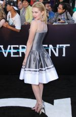 CLAUDIA LEE at Divergent Premiere in Los Angeles