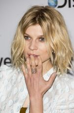 CLEMENCE POESY at 2014 Broadcasting Press Guild Awards in London