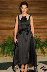 COBIE SMULDERS at Vanity Fair Oscar Party in Hollywood