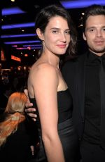 COIE SMULDERS and EMILY VANCAMP at Captain America: The Winter Soldier After Party