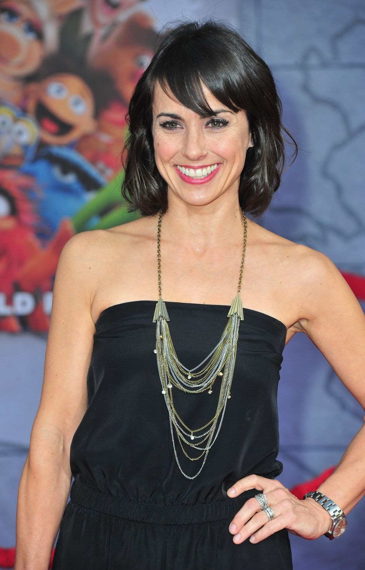 CONSTANCE ZIMMER at Muppets Most Wanted Premiere in Los Angeles