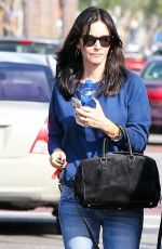 COURTNEY COX Out in West Hollywood