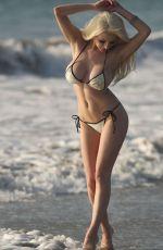 COURTNEY STODDEN in Bikini at a Beach in Los Angeles