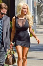 COURTNEY STODDEN Signs Up for Celeb Charm School