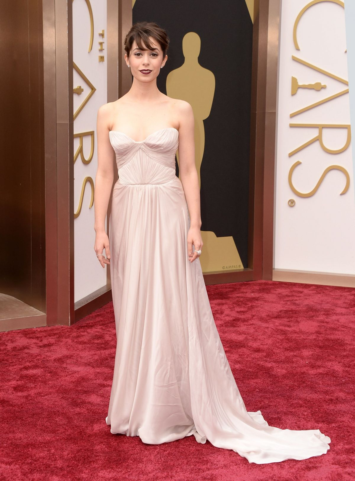CRISTIN MILIOTI at 86th Annual Academy Awards in Hollywood