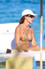 CRISTY RICE in Bikini on the Beach in Miami