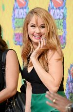 DABBY RYAN at 2014 Nickelodeon's Kids' Choice Awards in Los Angeles