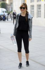 DAISY LOWE in Tight at a Gym