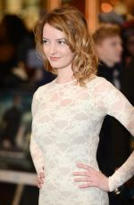DAKOTA BLUE RICHARDS at Captain America: The Winter Soldier Premiere in London