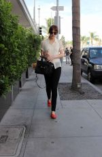 DAKOTA JOHNSON Out in Beverly Hills