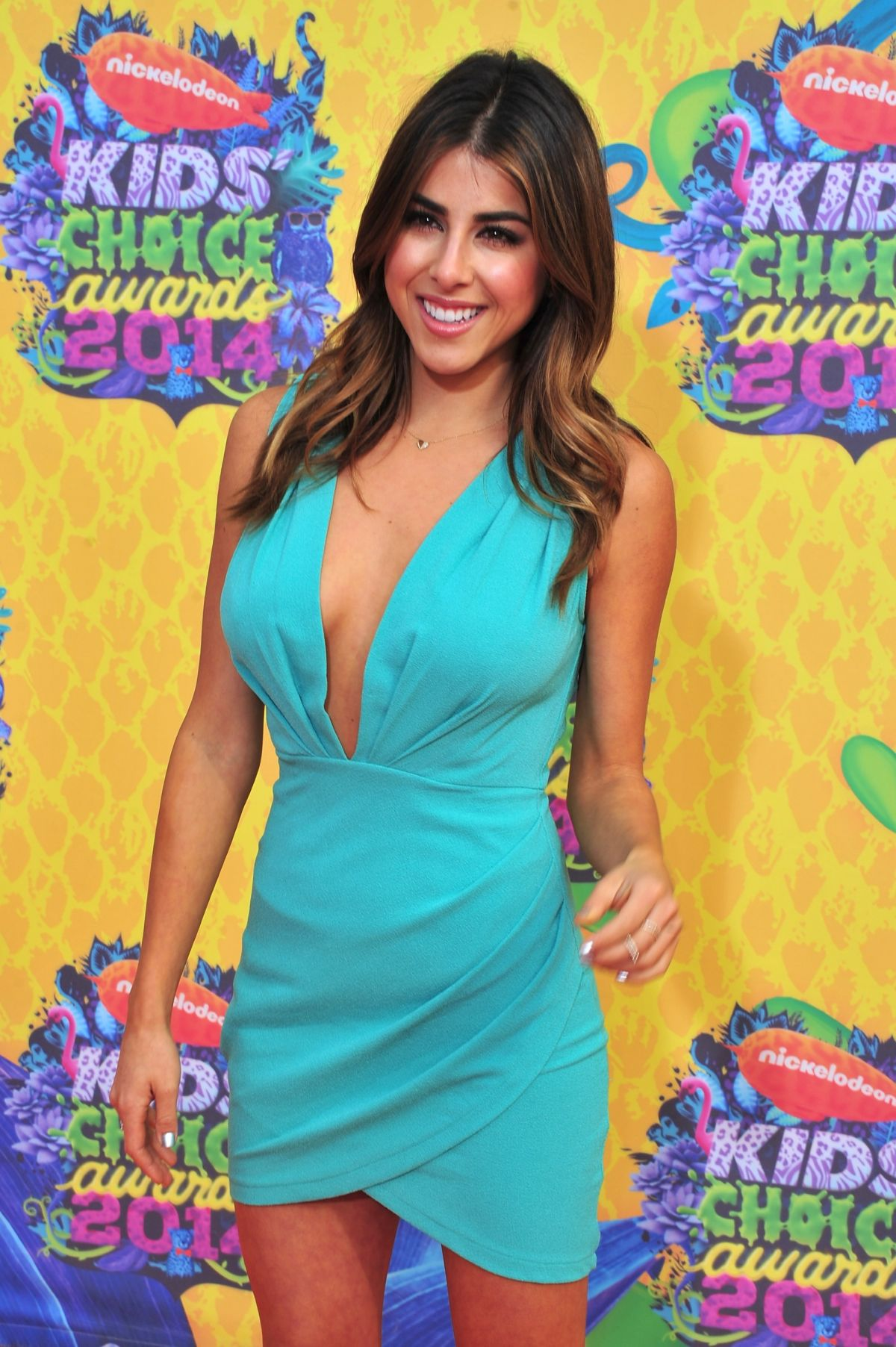 MONET at 2014 Nickelodeon's Kids' Choice Awards in Los Angeles